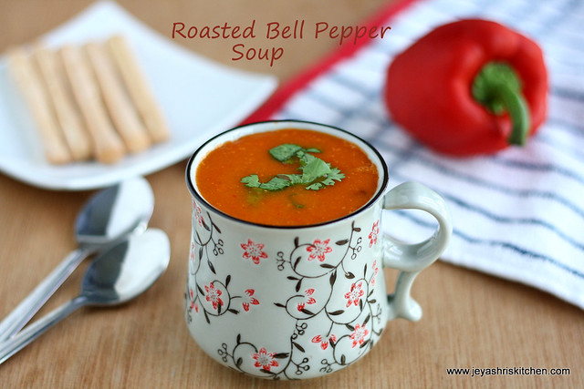 Bell pepper soup 3