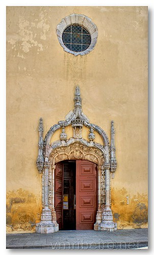 Portal manuelino da igreja de São João Batista, de Moura by VRfoto