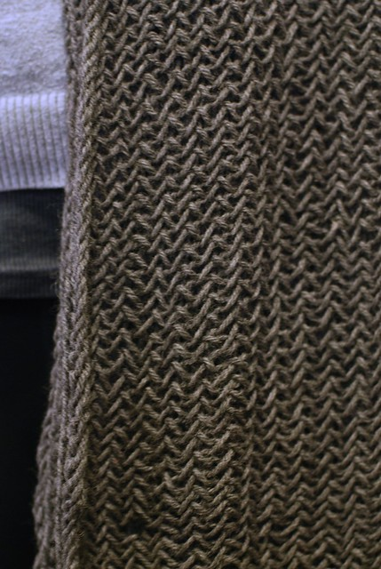 02012013 Herringbone Knit Cowl