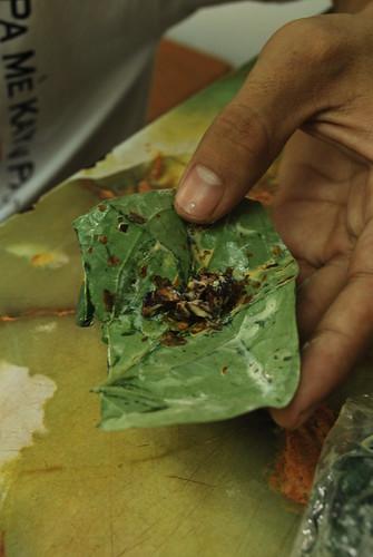 Myanmar Series- paan (betel leaf)