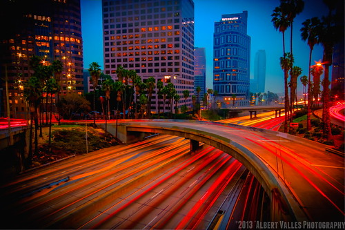 california motion cali downtownla hdr losangelesskyline digitalphotography foggymorning ilovela photomatix sunriselight creativephotography hdrphotography 365project canoneosdigitalslr discoverlosangeles rebelt2i albertvalles beautifulpicturesandcolorsoflosangeles 0373652013