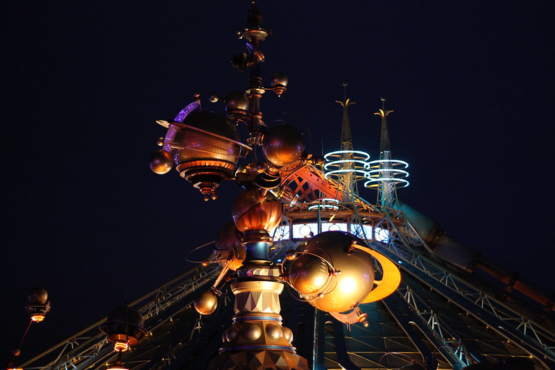 This is a picture of the Disneyland Paris Discoveryland