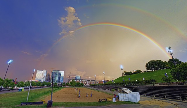 Baltimore Rainbow Panorama