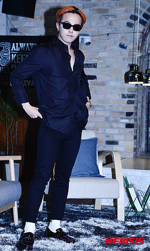 G-Dragon - Airbnb x G-Dragon - 20aug2015 - Newsis - 01