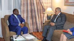 Ibrahim Mahlab, ancien Premier ministre égyptien reçu en audience