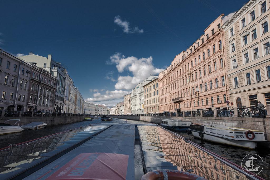8 сентября 2016, Экскурсия по рекам и каналам Санкт-Петербурга / 8 September 2016, Excursion on the waterways of St. Petersburg