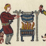 Feeding the troops, by Stamford Bridge Tapestry Project