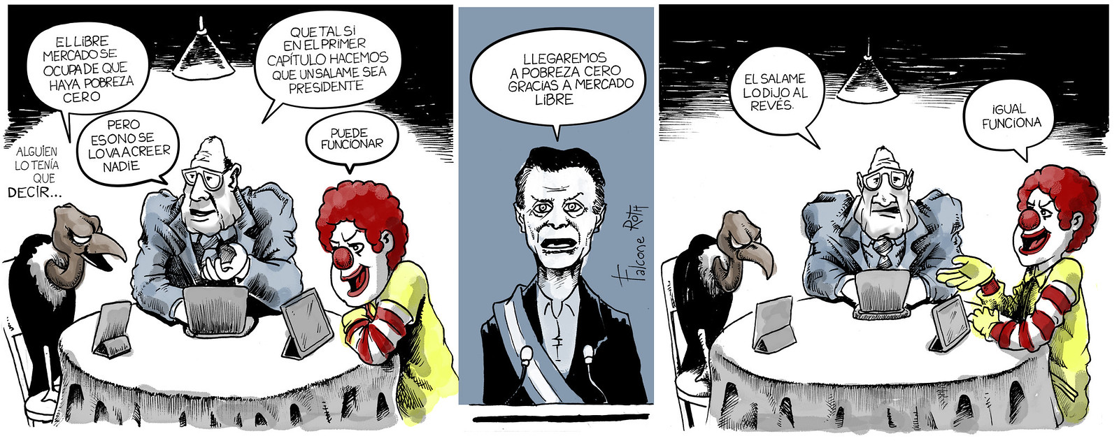 Mauricio Macri en Mercado Libre