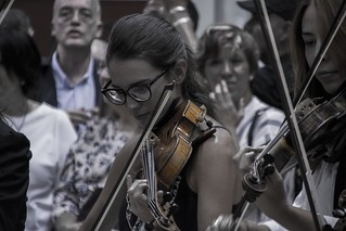 Street Violinist II. Madrid