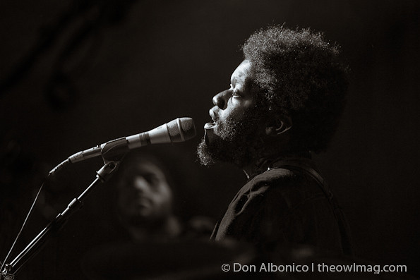 Michael Kiwanuka @ The Independent,  San Francisco 10/7/12