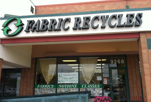 fabric recycles