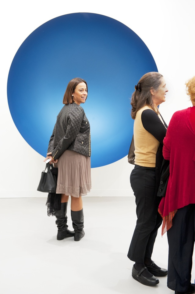 Anish Kapoor, Untitled (2012) Lisson Gallery, London Courtesy of Linda Nylind: © Frieze London