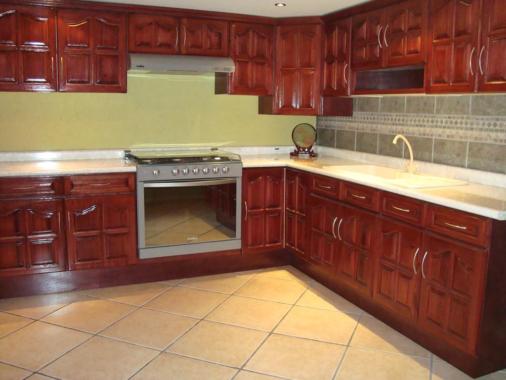 Cocina de madera de cedro jj cocinas integrales flickr - Precios de granito para cocina ...