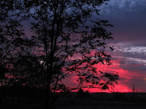 madrid blue sunset sky españa sun sol rose azul skyline spain europa sundown rosa cielo puestadesol crepusculo ocaso nwn anocheciendo coslada