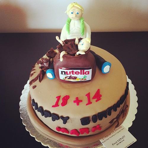Nutella cake by l'atelier de ronitte