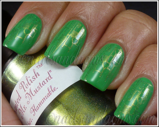 31DC2012 Day 4 Green Nails - 5