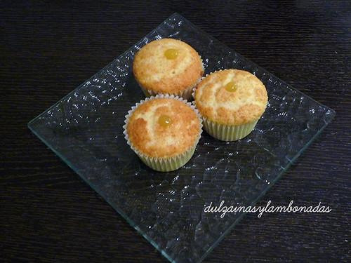 Cupcakes de Vainilla con Lemon Curd - Relleno