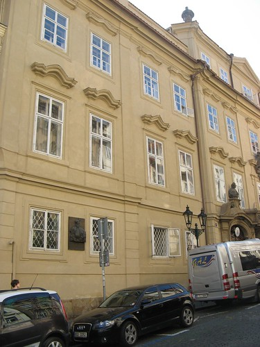 Morzin Palace in Prague, Czech Republic