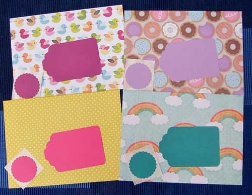 Donuts, Ducks & Rainbows Envelope Pack