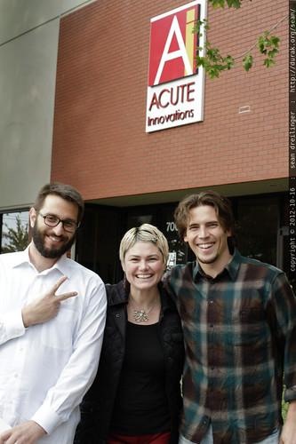 oren, rachel & andy @ acute innvoations    MG 9791