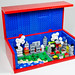 Mini Lego city in Brick by tikitikitembo