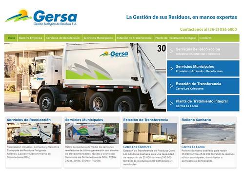 Nueva web de Gersa