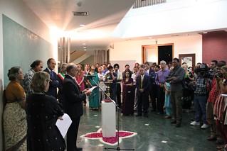 """Palabras inaugurales del Embajador Jaime Nualart en la inauguración la muestra fotográfica """"El fuego no muere"""""""