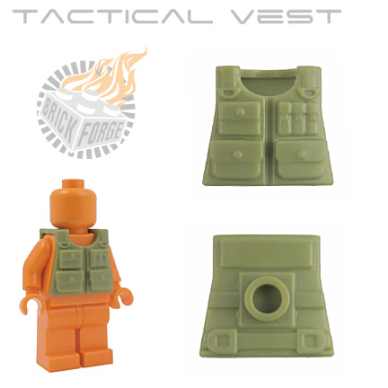 Tactical Vest - Olive Green