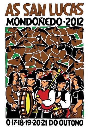 Mondoñedo 2012 - As San Lucas - cartel