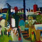 oil on canvas 2010 100x60cm