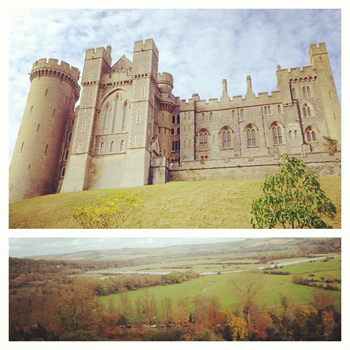 Visited #Arundel castle today. So amazed by the creativity inside those walls.