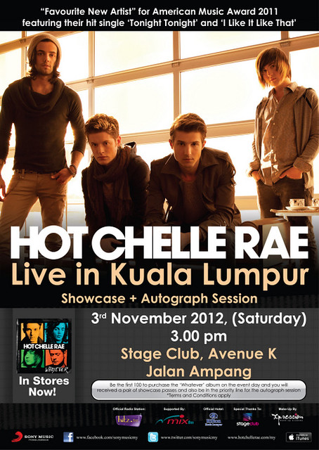 Showcase HOT CHELLE RAE Live In Malaysia