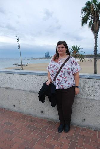 Barcellona - il mare di Barceloneta