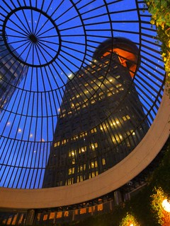 Harbor Centre through the dome