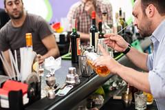 taste(0.0), bartender(1.0), drink(1.0), alcoholic beverage(1.0),