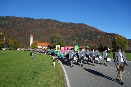 VEO Protestmarsch 2012 durch Oberau