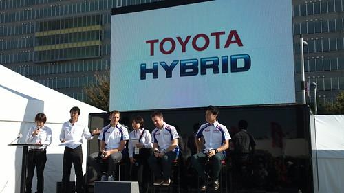 WEC TOYOTA Racing ドライバートークショー