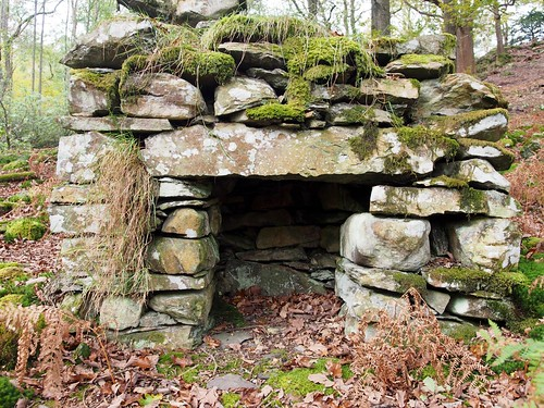 石造り暖炉