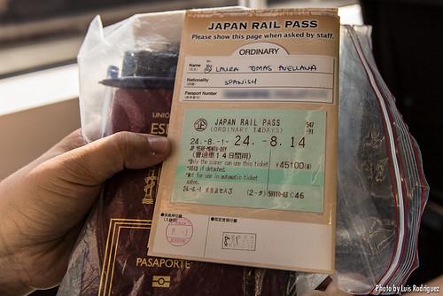 """El """"billete"""" que se añade al JR Pass"""