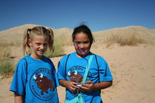 Baker - Students at Kelso Dunes