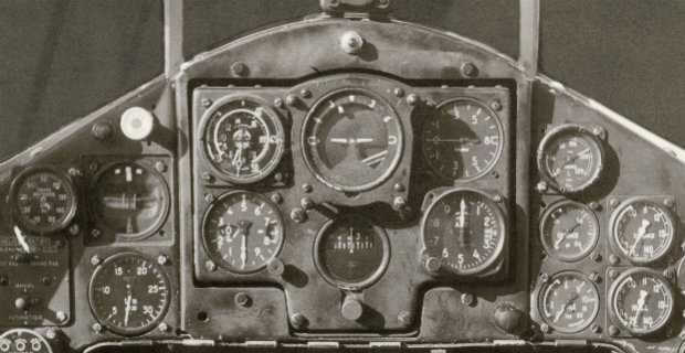 Bell&Ross - Vintage BR Carbon - Dashboard in the 40s - 4