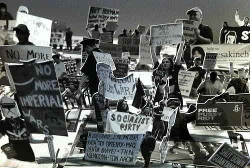 Protesters @ Newtopia
