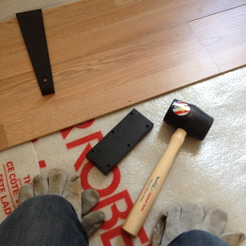 New floor #fromwhereisit volunteering to make a house a home