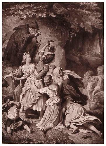 006-Jovenes en el bosque-Goethe-Galerie…1867- W. von Kaulbach- Universität Düsseldorf