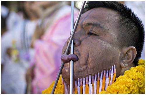 Vegetarian Festival Phuket, 22nd October 2012 at Kathu Shrine