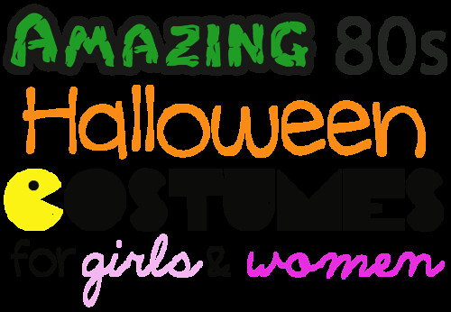 80s halloween costumes by Heather Says