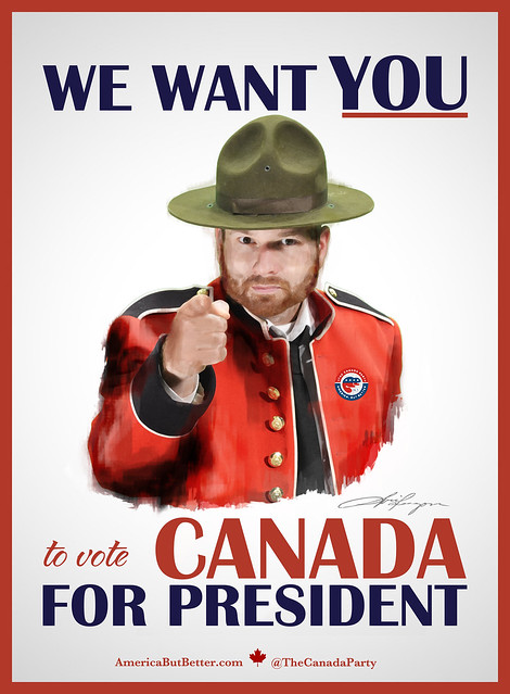 canada want vote election party campaign president poster wants candidate darkhorse flickr america emerging presidential york uncle sam need canadian