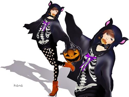 Halloween bat。