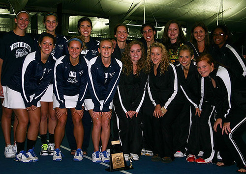 Saint Vincent, Westminster Crowned Co-Champions at 2012 PAC Women's Tennis Championships