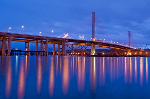 Port Mann Blue by petetaylor